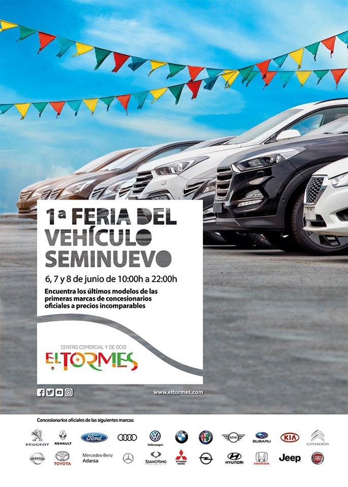 Centro Comercial El Tormes I Feria del Vehículo Seminuevo Santa Marta de Tormes Junio 2019