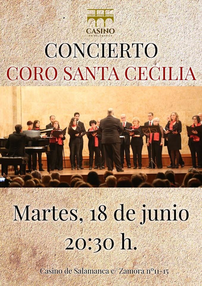 Casino de Salamanca Coro Santa Cecilia Junio 2019