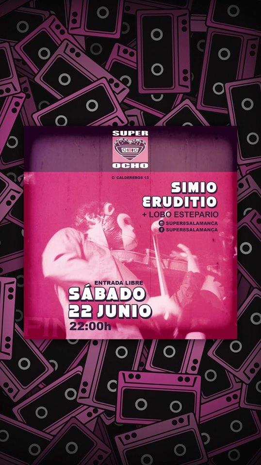 Super 8 Simio Eruditio + Lobo Estepario Salamanca Junio 2019