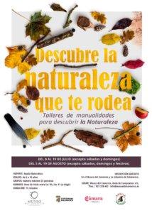 Museo del Comercio y de la Industria Descubre la naturaleza que te rodea Salamanca Julio agosto 2019