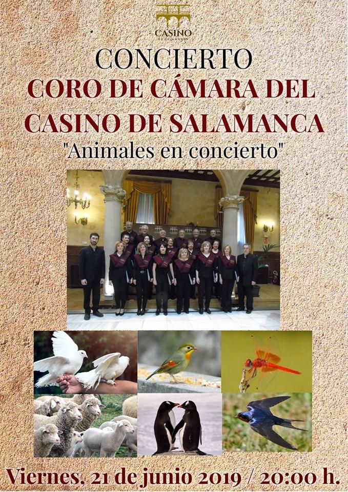 Casino de Salamanca Coro de Cámara Junio 2019