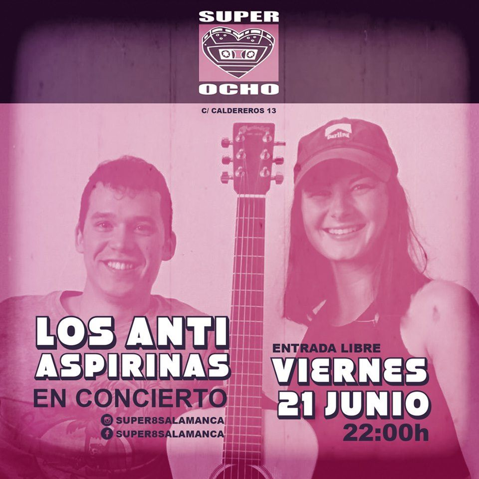 Super 8 Los Anti Aspirinas Salamanca Junio 2019