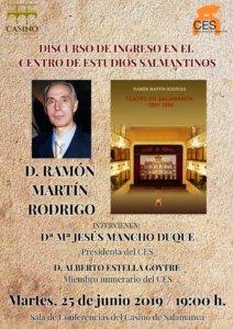 Casino de Salamanca Ramón Martín Rodrigo Junio 2019