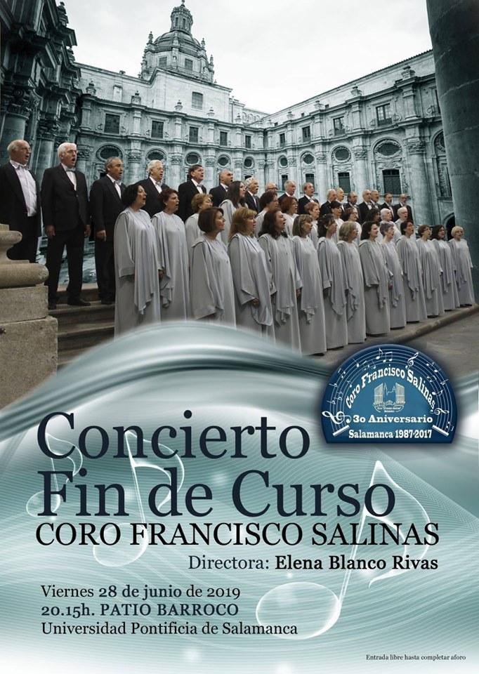 Universidad Pontificia de Salamanca Coro Francisco Salinas Junio 2019