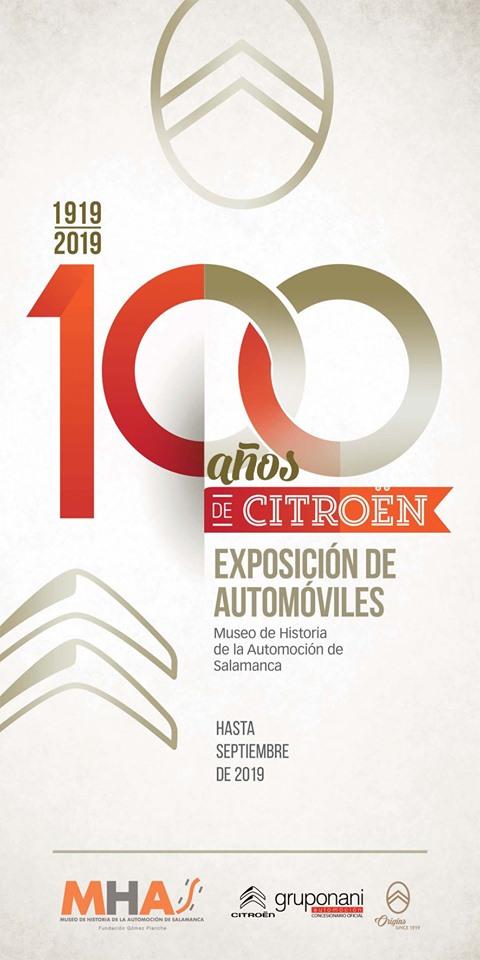 Museo de Historia de la Automoción de Salamanca MHAS 1919/2019. 100 años de Citroën