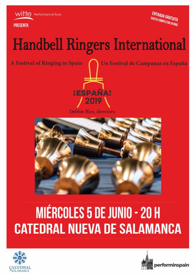 Catedral Nueva Festival de Campanas de Mano Salamanca Junio 2019