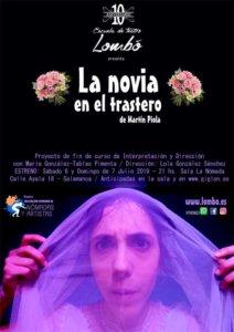 La Nómada La novia en el trastero Salamanca Julio 2019