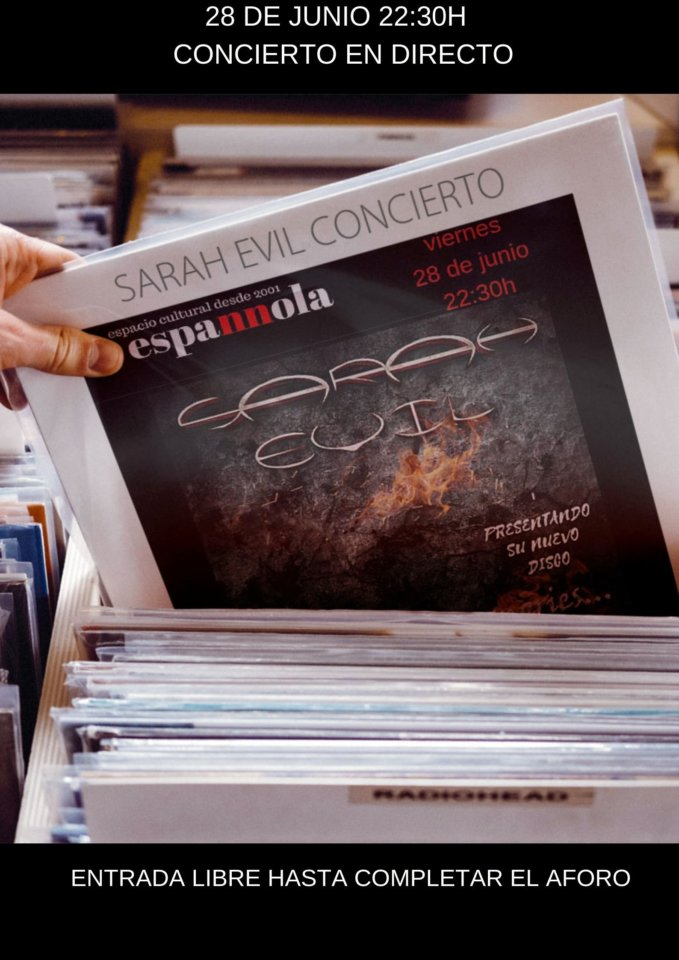 La Espannola Sarah Evil Salamanca Junio 2019