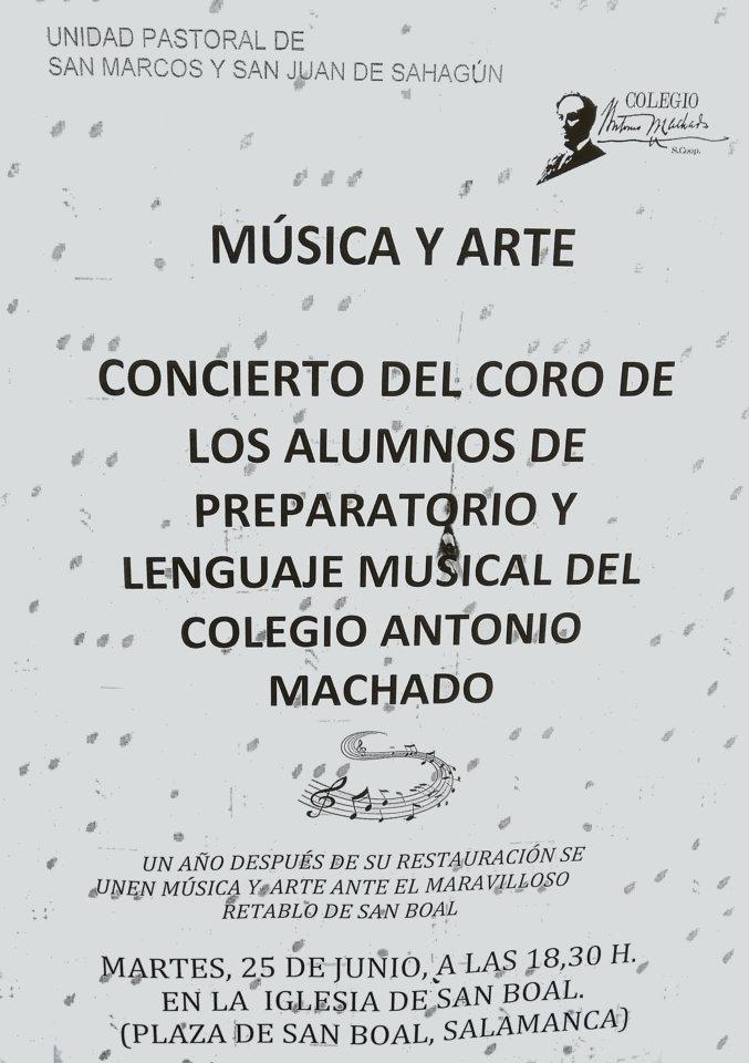 Iglesia de San Boal Música y arte Salamanca Junio 2019