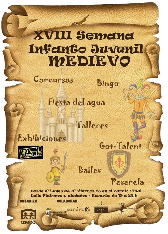 Salamanca XVIII Semana Infanto Juvenil Asecal Junio 2019