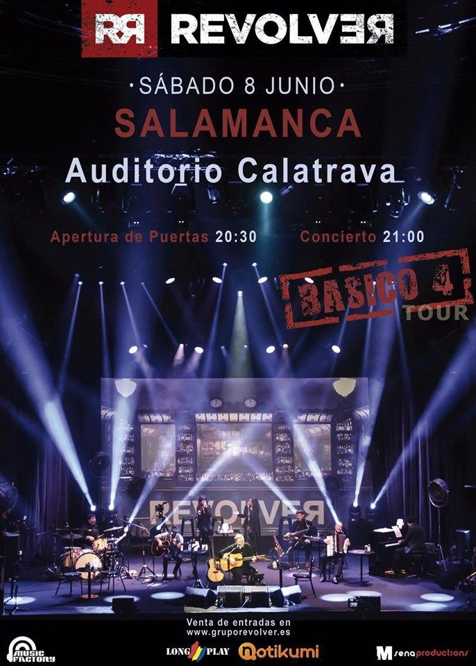 Auditorio Calatrava Revolver Salamanca Junio 2019