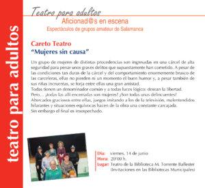 Torrente Ballester Careto Teatro Salamanca Junio 2019
