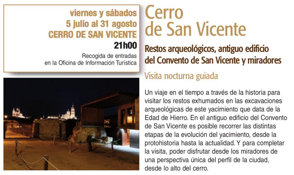 Cerro de San Vicente Plazas y Patios 2019 Salamanca Julio agosto