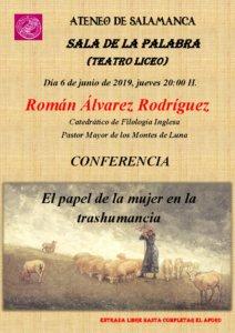 Teatro Liceo Román Álvarez Rodríguez Ateneo de Salamanca Junio 2019