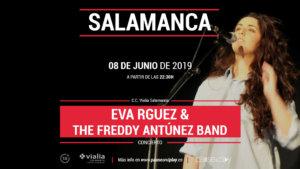 Centro Comercial Vialia Eva Rguez & The Freddy Antúnez Band Salamanca Junio 2019