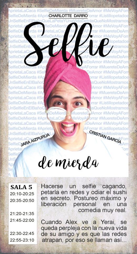 La Malhablada Selfie de mierda Salamanca 2019