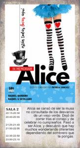 La Malhablada Alice in memorian Salamanca 2019