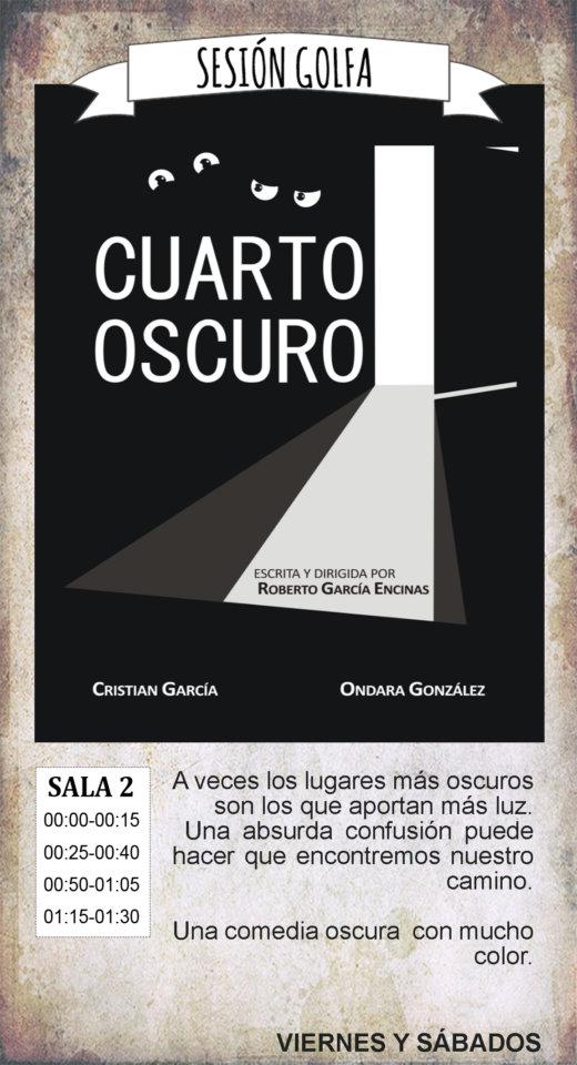La Malhablada Cuarto oscuro Sesión Golfa Salamanca Junio 2019