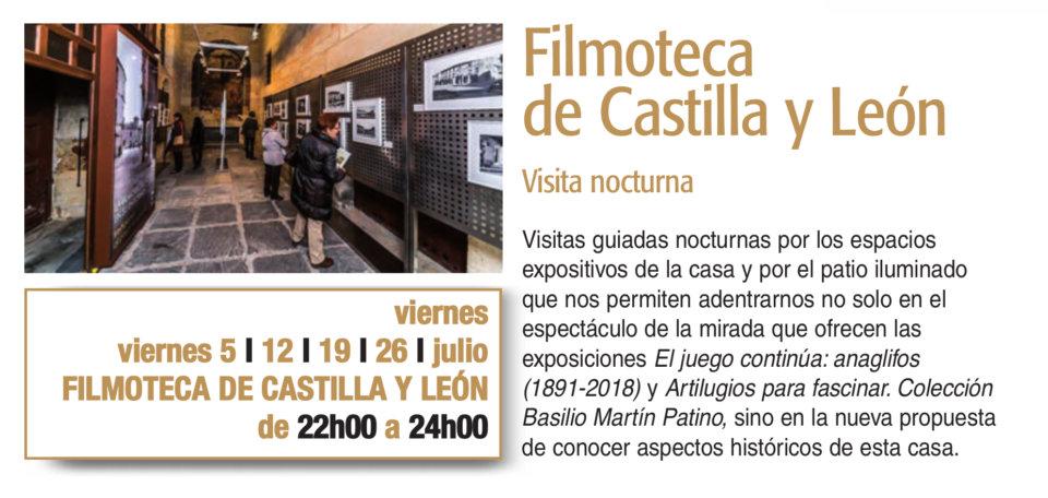 Filmoteca de Castilla y León Plazas y Patios 2019 Salamanca Julio