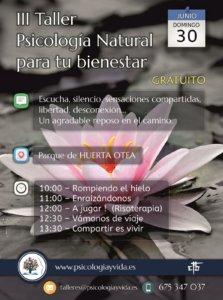 Huerta Otea Psicología Natural para tu bienestar Salamanca Junio 2019