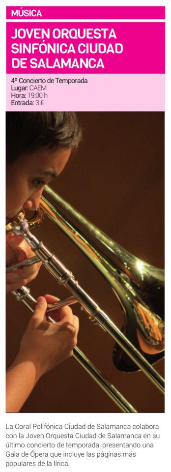 Centro de las Artes Escénicas y de la Música CAEM Joven Orquesta Sinfónica Ciudad de Salamanca Junio 2019
