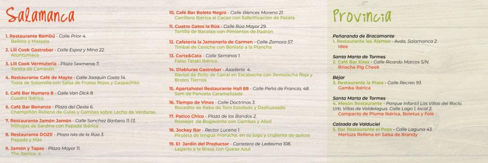 Salamanca XVIII Concurso de Pinchos Junio 2019