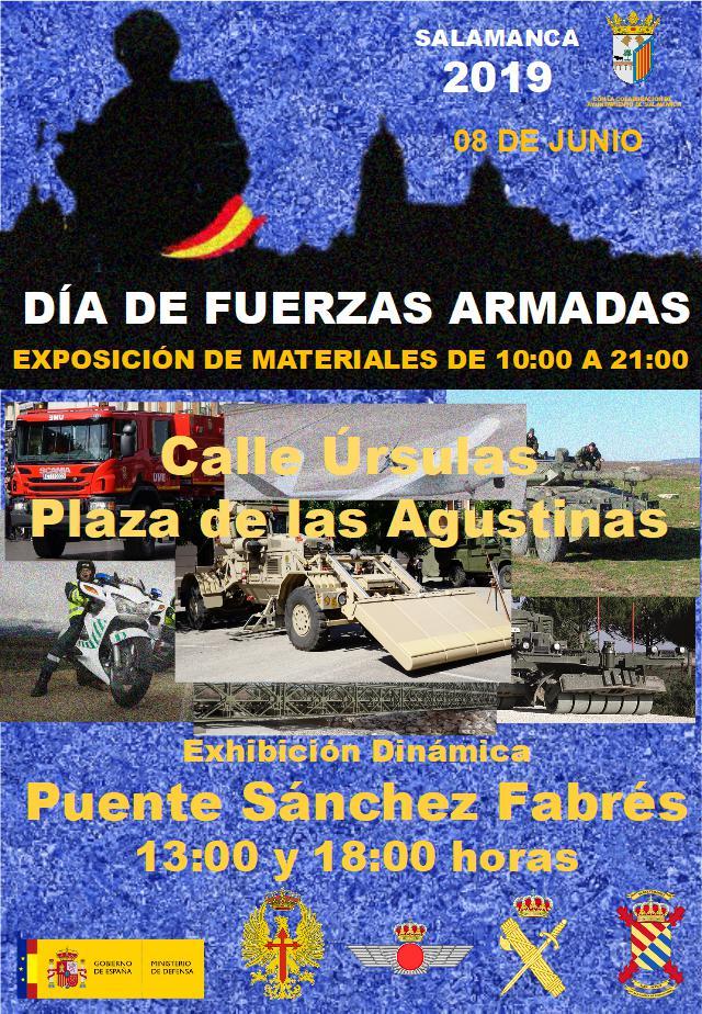 Salamanca Día de las Fuerzas Armadas Junio 2019