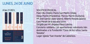 Cabrerizos Solsticio Musical Junio 2019