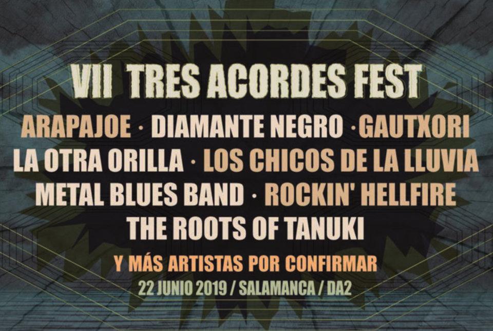 Domus Artium 2002 DA2 VII Tres Acordes Fest Salamanca Junio 2019