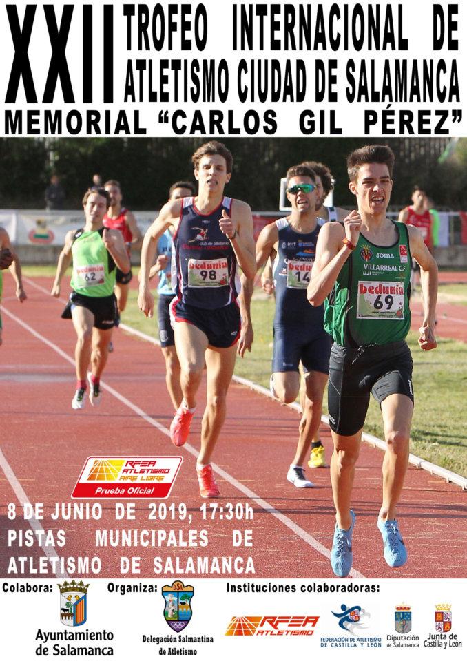 Salamanca XXII Trofeo Internacional de Atletismo Memorial Carlos Gil Pérez Junio 2019