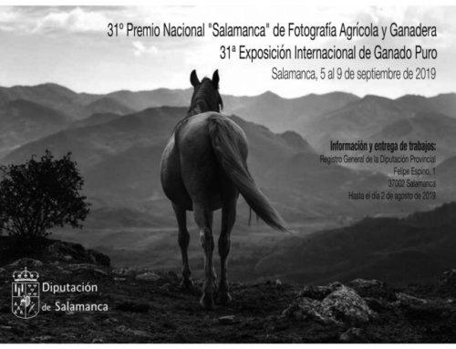 Convocado el XXXI Premio Nacional Salamanca de Fotografía Agrícola y Ganadera.