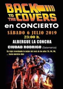 Albergue La Concha Back to the Covers Ciudad Rodrigo Julio 2019