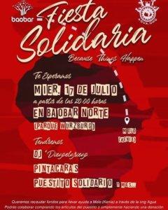 Baobar Norte Fiesta Solidaria Salamanca Julio 2019