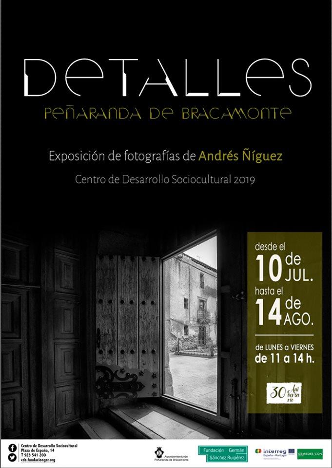 Centro de Desarrollo Sociocultural Detalles Peñaranda de Bracamonte Julio agosto 2019
