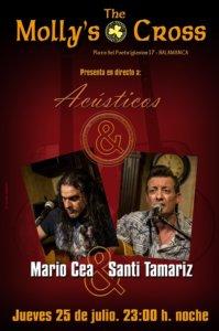 The Molly's Cross Mario Cea & Santi Tamariz Salamanca Julio 2019
