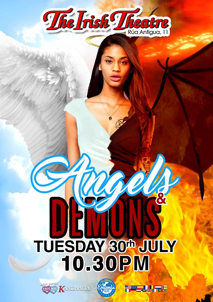 The Irish Theatre Angels & Demons Party Salamanca Julio 2019