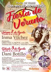 San Miguel de Valero Fiesta de Verano Agosto 2019