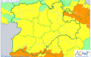 Este lunes, 22 de julio, Salamanca comienza una semana de alertas meteorológicas por tormentas y altas temperaturas