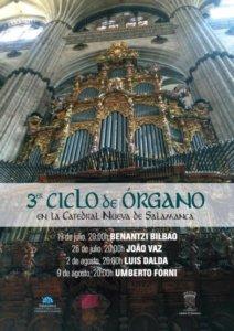 Catedral Nueva III Ciclo de Órgano Salamanca Julio 2019