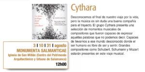 Monumenta Salmanticae Cythara Plazas y Patios 2019 Salamanca Agosto