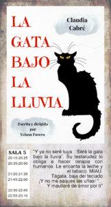 La Malhablada La gata bajo la lluvia Fin de Semana Salamanca Julio 2019