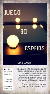 La Malhablada Juego de espejos Fin de Semana Salamanca Julio 2019