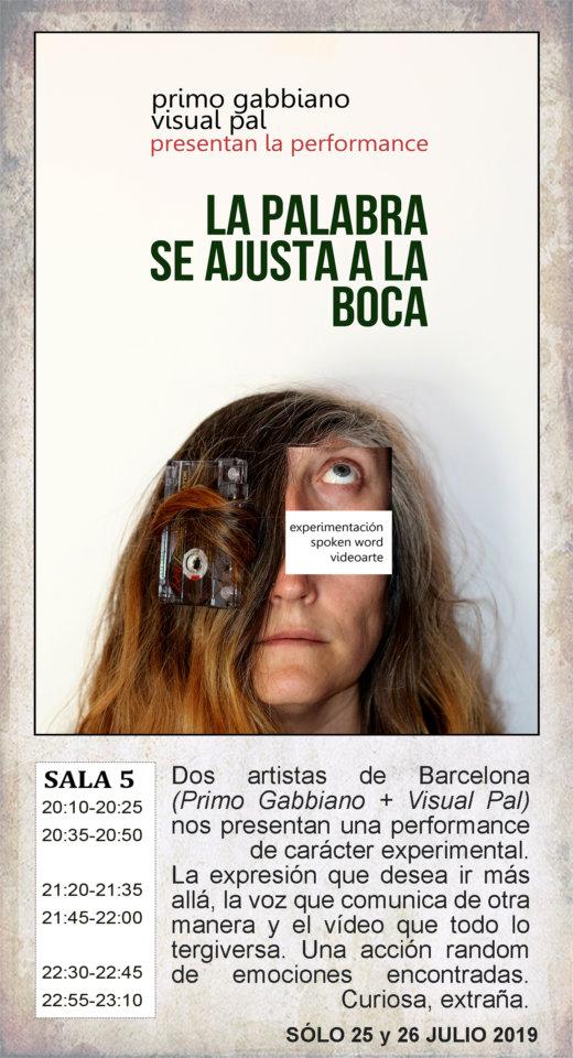 La Malhablada La palabra se ajusta a la boca Salamanca Julio 2019