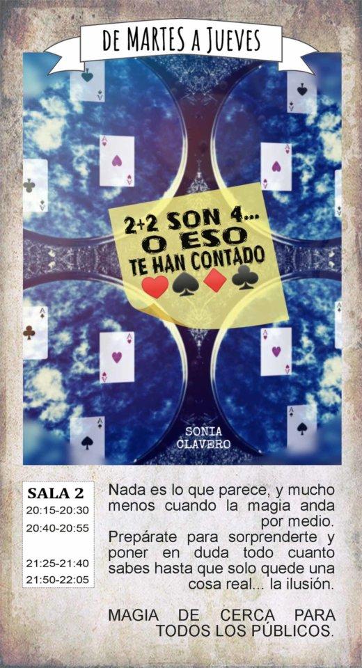 La Malhablada 2 + 2 son 4... O eso te han contado Salamanca Julio 2019