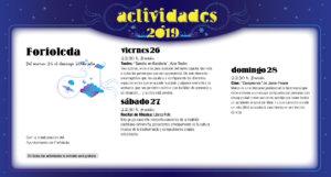 Forfoleda Noches de Cultura Julio 2019