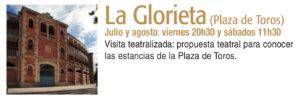 La Glorieta Plazas y Patios 2019 Salamanca Julio agosto