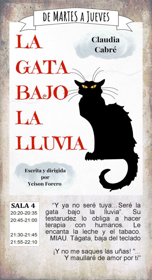 La Malhablada La gata bajo la lluvia Salamanca Julio 2019