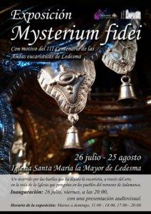 Iglesia de Santa María la Mayor Mysterium fidei Ledesma Julio agosto 2019