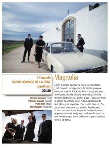 Santo Domingo de la Cruz Magnolia Plazas y Patios 2019 Salamanca Agosto