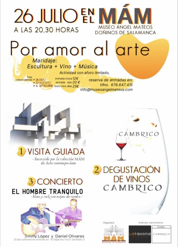 Museo del Hormigón Ángel Mateos MÁM Por amor al arte Doñinos de Salamanca 2019